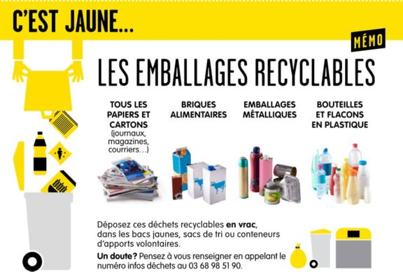 Emballages recyclables