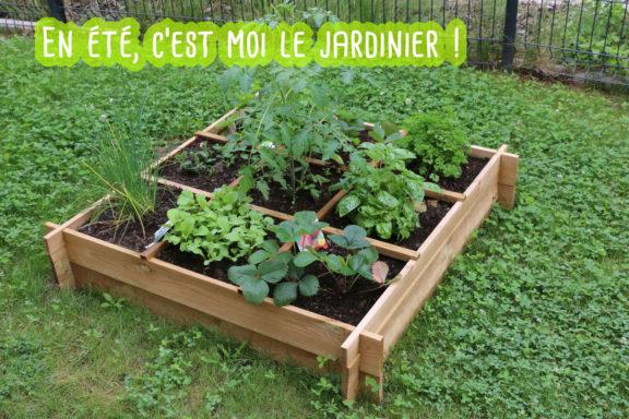 En été, c'est moi le jardinier !