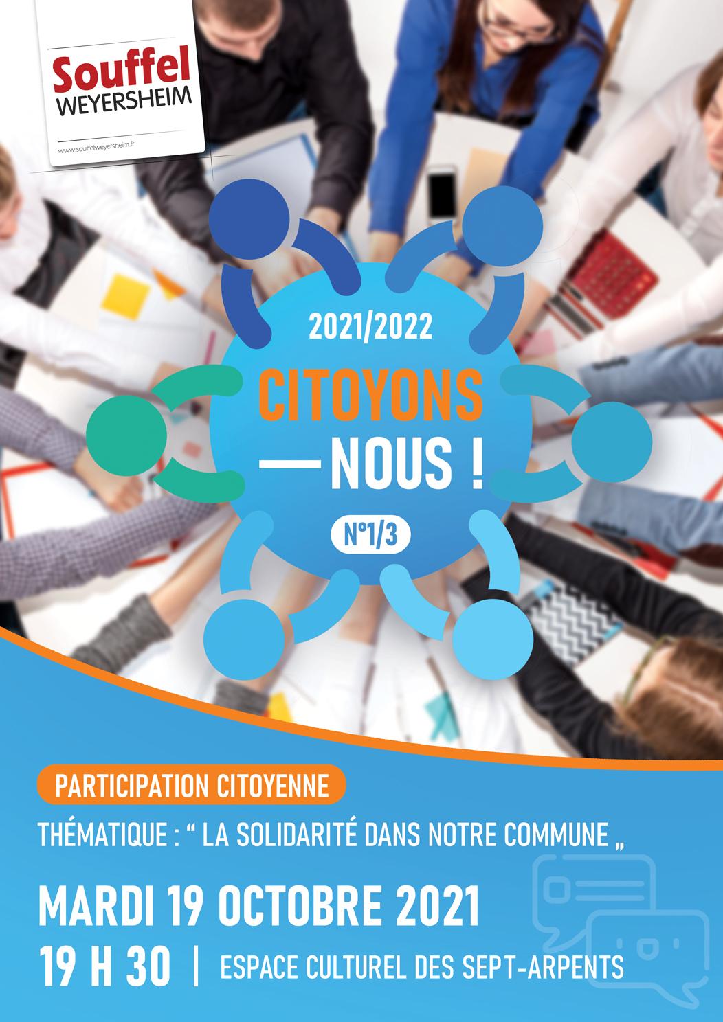 """Citoyons-Nous ! #1/3 : """"La Solidarité dans notre commune"""""""